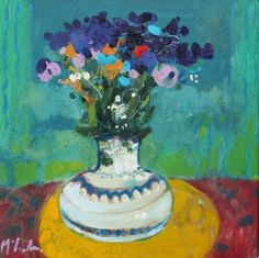 Rory McLAUCHLAN -Mixed Pansies