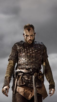 Gustaf Skarsgard Floki in Vikings