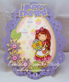 The Paper Nest Dolls Challenge Blog: Egg Coloring Avery