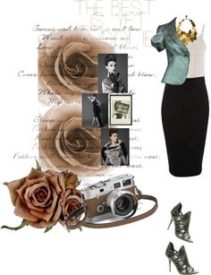 """"""": )"""" by elainedahor ❤ liked on Polyvore"""