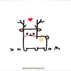 Easy Doodles Drawings, Funny Doodles, Easy Doodle Art, Kawaii Doodles, Simple Doodles, Cute Little Drawings, Cute Easy Drawings, Cool Art Drawings, Kawaii Drawings
