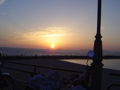Futami. The place whose evening glow famous for Japan is visible.   Ehime Prefecture.