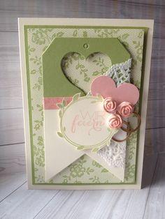 Stampin´Up! I Love Lace, Hochzeit, Wedding