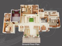 awesome house blueprints and plans with house plan 20 05 2011 image for free home design - 3d Home Design Plans