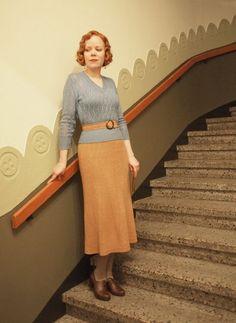 Longuette e cintura - Longuette con cintura in vita in stile anni '30.