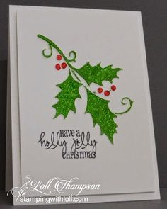 Hi everyone. Sharing another Christmas card today. This one started out completely different in...
