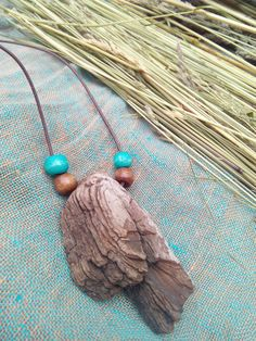 Please note: I live in Europe, Latvia and the shipping time from Latvia to USA and Australia takes up to 4 weeks and to 3 weeks in Europe. This pendant made of natural driftwood and wooden beads. Driftwood Jewelry, Driftwood Crafts, Seashell Crafts, Wooden Jewelry, Wooden Beads, Stone Jewelry, Wire Jewelry, Jewelry Crafts, Jewelry Art