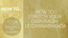 How To Stretch your Diaphragm : Uddiyanabhanda