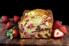 Chocolate Chunk Strawberry Malted Loaf for Twelve Loaves | Parsley, Sage and Sweet