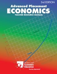 """""""Advanced Placement Economics: Teacher Resource Manual"""" is the perfect complement to your college-level economics textbook. Use these proven activity-based lessons to clearly illustrate and reinforce the economic principles you introduce in your lectures."""