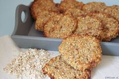 cannot have too many oatmeal cookies recipes :) Healthy Cake, Healthy Sweets, Healthy Baking, Healthy Food, Healthy Cookies, Vegan Food, Allergy Free Recipes, Low Carb Recipes, Healthy Recipes