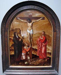 Pieter pourbus, crocifissione, 1557, 01.JPG
