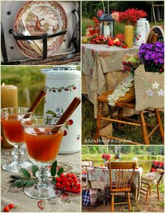 Aiken House & Gardens: An Autumn Picnic