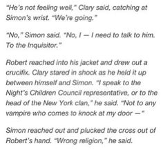 City of heavenly fire snippet