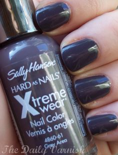 Sally Hansen - Grey Area- have this color and I LOVE it!!