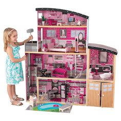 KidKraft Sparkle Mansion Dollhouse & Reviews | Wayfair