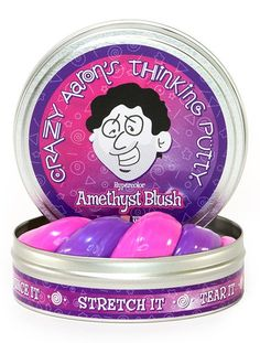 Crazy Aaron's Putty: Amethyst Blush (Heat Sensitive) - The Granville Island Toy Company