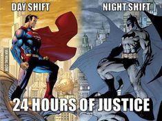 Night shift all the way