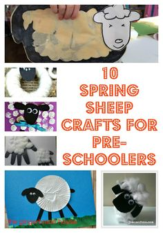 10 Spring sheep craf