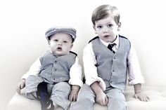 Cute kid photos Little boy dress up  Brothers