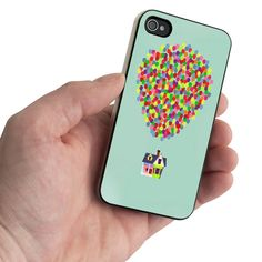 Up And Go Balloon House SWX Design for iPhone 5 Case / iPhone 4 Case / iPhone 4S Case - Samsung Galaxy S3 Case / Samsung Galaxy S4 Case