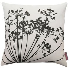 Buy Clarissa Hulse Dill Cushion, White/Storm Online at johnlewis.com