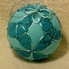 Kimekomi Ball  Aqua Trinity by DottiesTemaris on Etsy