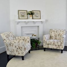 Polly 2-pk Accent Chair