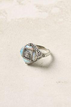 Opal & Diamond Ring - StyleSays