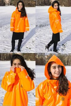 Funda can't wait until Spring to get dressed in rainwear again and for this has bought a 66 North cagoule. Plastic Raincoat, Pvc Raincoat, Rain Wear, Sport Wear, Girls In Love, Girls Wear, Feminine Style, Get Dressed, Rain Jacket