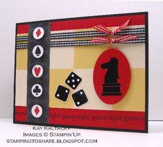 Game Night Swap Card