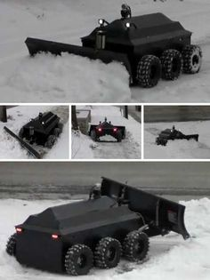 Blizzard Wizards: 10 Cool Cutting Edge Snow Plows