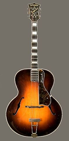 1937 D'Angelico Style A Archtop Guitar