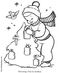 Christmas - Reindeer coloring pages