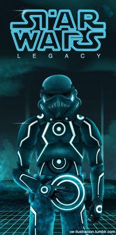 Tron Trooper