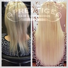 Single drawn prestige hair extensions fitted in stockport salon some of our double drawn keratin bonded hair extensions fitted by prestige hair extensions manchester remy pmusecretfo Images