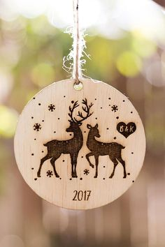 Items similar to Personalized Christmas Ornament, Wooden Christmas Ornament Gift, Engraved Wooden Christmas Ornament, Wood Ornament, Personalized Ornament on Etsy – Holzarbeiten Snowman Christmas Ornaments, Wood Ornaments, Personalized Christmas Ornaments, Christmas Wood, Christmas Crafts, Wood Burning Crafts, Wood Burning Patterns, Wood Burning Art, Wood Burned Signs