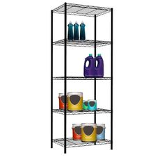 You'll love the 5-Layer Wire Shelving Unit at Wayfair - Great Deals on all Storage & Organization products with Free Shipping on most stuff, even the big stuff.