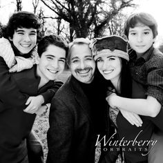 Family Portraiture with Sebastian and his 4 precious children!