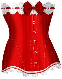 Red Bow Corset