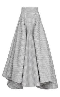 Atomic full skirt by MATICEVSKI for Preorder on Moda Operandi