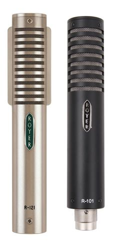 "Royer R-121 & R-101  ""One mic company you may want to check out is Royer,"" says Paul Klingberg, an LA-based Grammy-winning engineer with credits that range from Earth, Wind, and Fire, to Jonathan Butler, Loreena McKennitt, and The Simpsons. ""The Royer R-121 is a really great ribbon mic that many professionals in the LA studio scene use every day. They are so clean and warm and can take a huge amount of SPL. I've used them on everything from vocals to drums to horns."