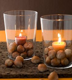 Easy Votive with Nuts | Better Homes & Gardens