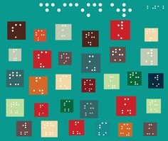 Calendar for Blind Children by Monika Zec, via Behance