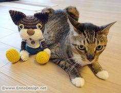 Anji the Cat and his Amigurumi Doll | Flickr - Photo Sharing!