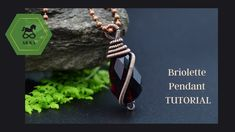 Wire Wrap Simple Pendant for BEGINNER For this wrapped i used 20 and 26 gauge - copper round wire and a faceted agate - briolette drop with vertical hole. Wire Tutorials, Wire Wrapping, Pendants, Ear, Gemstones, Jewelry, Jewlery, Gems, Jewerly