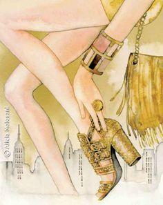 TATLER Hong Kong - April 2012 by Alicia Malesani, via Behance