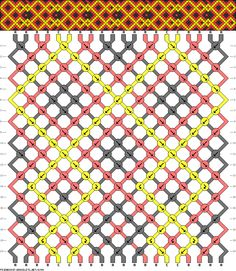 Friendship Bracelet Pattern 6394 new