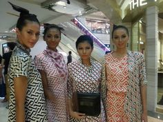 Retro Batik look from Purana