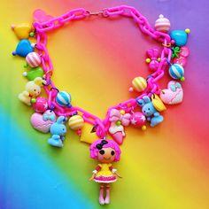 Lalaloopsy Doll Kawaii Charm Necklace